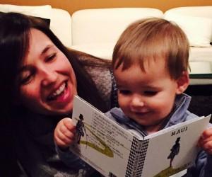 Laura y su nene